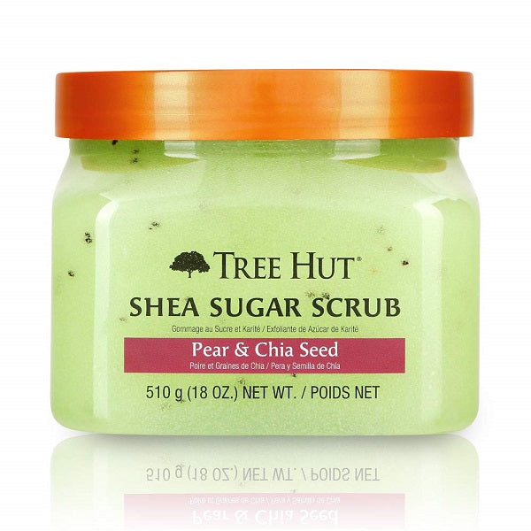Tree Hut - Shea Sugar Body Scrub, Pear & Chia Seed 510 g