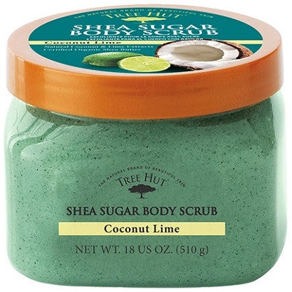 Tree Hut - Shea Sugar Scrub, Coconut Lime 510 g | Hotally Singapore