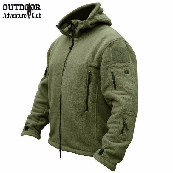 Zogaa New Military Tactical Outdoor Soft Shell Fleece Jacket Men Army Polartec Sportswear Thermal Outerwear Hunt Combat Clothes
