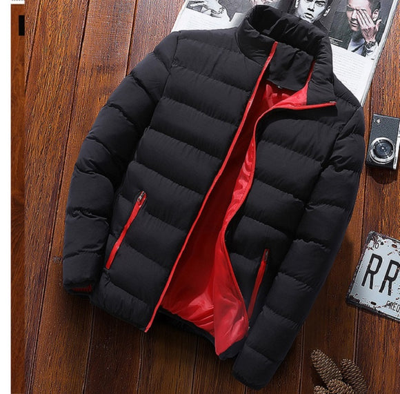 2019 New Winter Jackets Parka Men Autumn Winter Warm Outwear Brand Slim Mens Coats Casual Windbreaker Quilted Jackets Men M-4XL