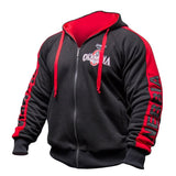 Men Gyms Hoodies Gyms Fitness Bodybuilding Sweatshirt Pullover Sportswear Male Workout Hooded Jacket Clothing