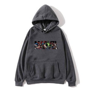 2019 New Brand Marvel Hoodies men high quality Long sleeves Casual men Sweatshirt Hoodies marvel print Hoodie Tracksuits male