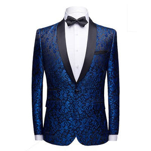 2019 NEW Brand business Embroidery Blazers mens Suits Jackets slim fit men's blazer Masculino Top Quality Dress  size S-3XL 4XL