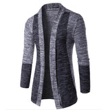 Men Slim Fit Long Sleeve Knitted Cardigan Jacket Casual Sweater Coat Tops XRQ88