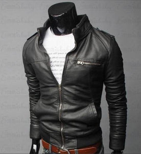 Mens Leather Jackets Men Jacket High Quality Classic Motorcycle Bike Cowboy Jackets Male Plus Thick Coats M-3XL