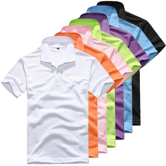 Fashion Men's Clothing Solid Classic Shirts Casual Tops Tees 15 colors
