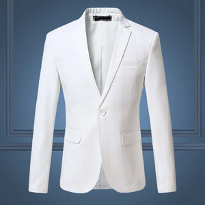 (10 colors) high quality men's business professional dress blazer, large size fashion business solid color slim jacket men's 6XL