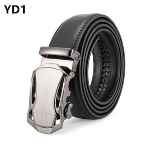 Men's Genuine Leather Belt High Quality Belts Men Luxury Strap Male Waistband Fashion Vintage Buckle Belt for Jeans Long 110-150
