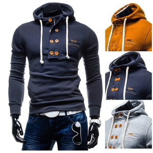 Zogaa 2019 New Brand Men's Spring Autumn Hoodies & Sweatshirts Casual Cotton Solid  Men Sweatshirts Size S- XXXL