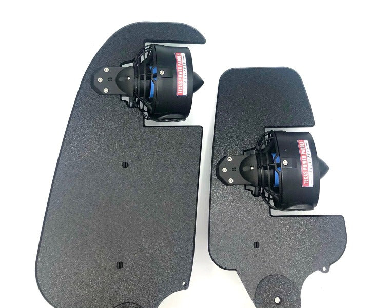 Extra Rudder Mounted Propulsion System for Hobie Kayaks