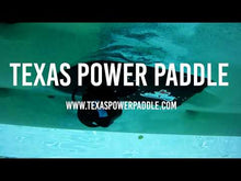 Load and play video in Gallery viewer, Texas Power Paddle Propulsion System for Hobie Outback and Pro Angler w/Guardian Retractable Transducer Shield