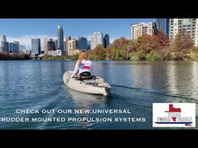 Load and play video in Gallery viewer, MAKO Universal Rudder Mounted Propulsion System for all kayaks