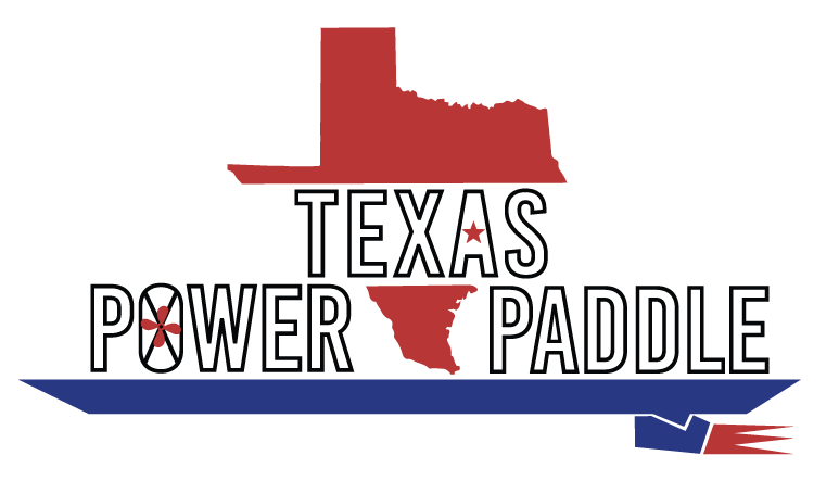 Texas Power Paddle Sticker