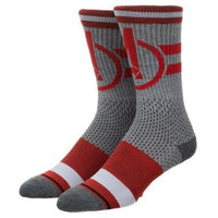 Marvel Avengers Mesh Mens Athletic Crew Socks