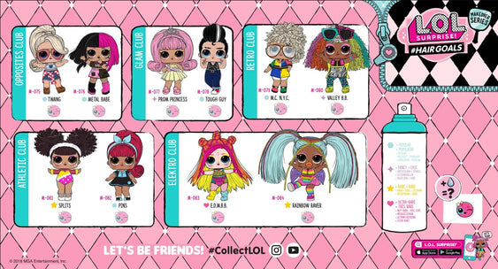 Collectible Dolls With Mix And Match Accessories L O L Surprise Official L O L Surprise