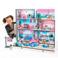 L.O.L. Surprise! Wooden Doll House with Exclusive Family & 85+ Surprises