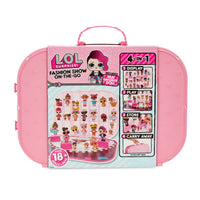 L.O.L. Surprise! Fashion Show On-the-Go Light Pink Storage & Playset