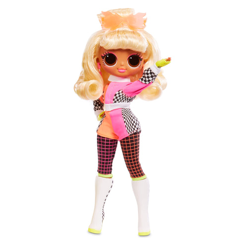 LOL Surprise OMG Lights Speedster Fashion Doll with 15 Surprises