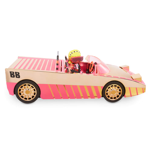 LOL Surprise Car-Pool Coupe with Exclusive Doll, Surprise Pool & Dance Floor