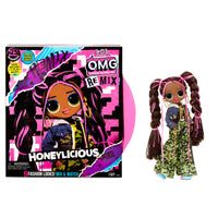LOL Surprise O.M.G. Remix Honeylicious Fashion Doll - 25 Surprises with Music