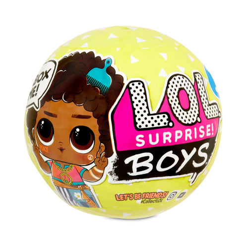 LOL Surprise Boys Character Doll with 7 Surprises Series 3