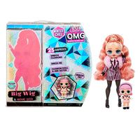 LOL Surprise O.M.G. Winter Chill Big Wig Fashion Doll & Madame Queen Doll with 25 Surprises
