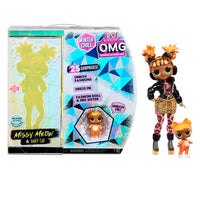 LOL Surprise O.M.G. Winter Chill Missy Meow Fashion Doll & Baby Cat Doll with 25 Surprises