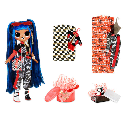 LOL Surprise O.M.G. Downtown B.B. Fashion Doll with 20 Surprises