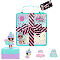 LOL Surprise Deluxe Present Surprise with Limited Edition Sprinkles Doll and Pet, Teal