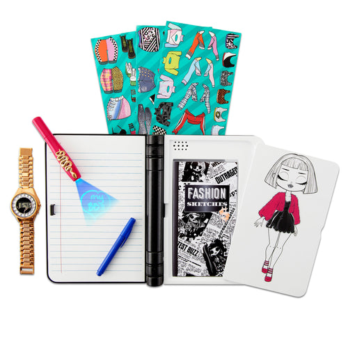 LOL Surprise O.M.G. Fashion Journal - Electronic Password Journal with Watch