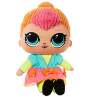 LOL Surprise Neon Q.T. - Huggable, Soft Plush Doll