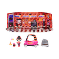 LOL Surprise Furniture Series 4 B.B. Auto Shop with Spice Doll and 10+ Surprises