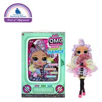 LOL Surprise OMG Dance Dance Dance  Miss Royale Fashion Doll with 15 Surprises