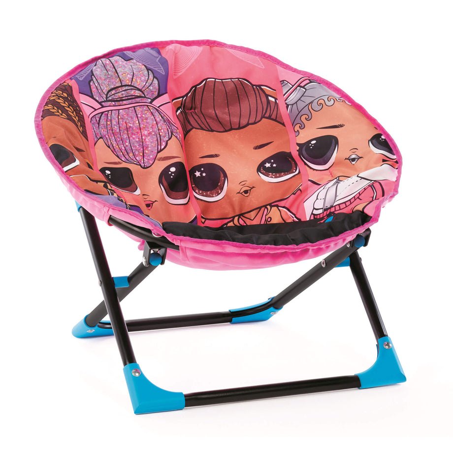 LOL Surprise Remix Plush, Folding Moon Chair for Kids