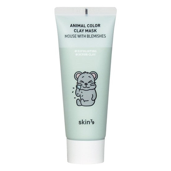 Animal Color Clay Mask Mouse with blemishes maseczka w kremie 70 ml