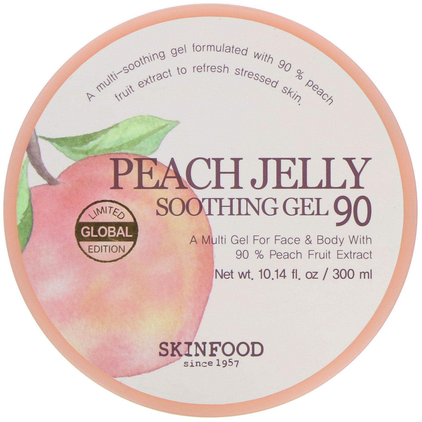 Peach Jelly Soothing Gel 90 Żel do twarzy i ciała 300 ml