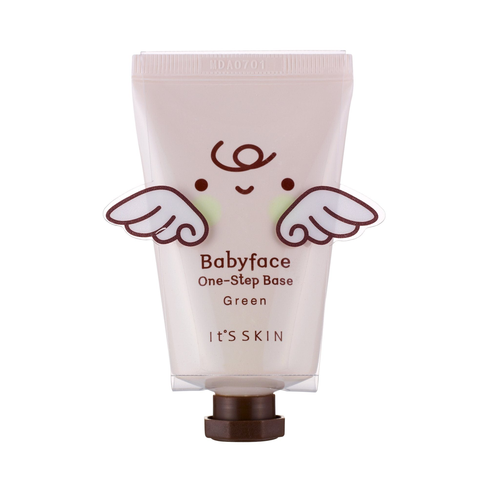 Health & Beauty > Personal Care > Cosmetics > Makeup > Face Makeup > Face Primer - Babyface One-Step Base Green Baza Pod Makijaż 35 G