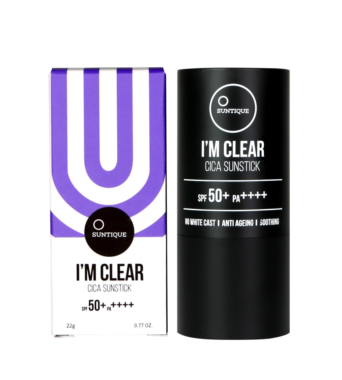 Health & Beauty > Personal Care > Cosmetics > Makeup > Face Makeup > Foundations & Concealers - I'm Clear Cica Sunstick SPF50+/PA++++ Krem BB W Sztyfcie 22 G
