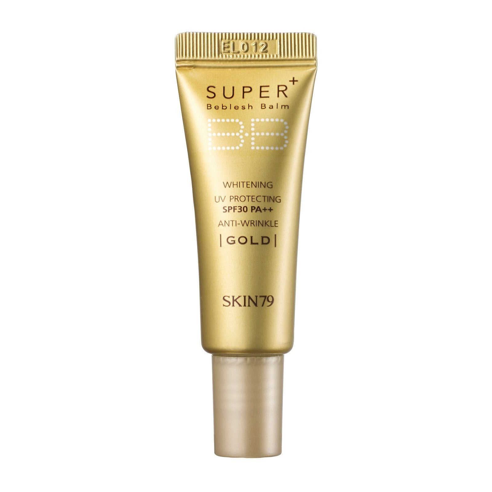 Health & Beauty > Personal Care > Cosmetics > Makeup > Face Makeup > Foundations & Concealers - MINI Krem BB VIP Gold Super Plus Beblesh Balm Cream (mini Size) 7 G