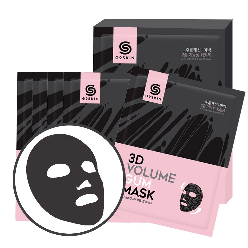 Health & Beauty > Personal Care > Cosmetics > Skin Care > Compressed Skin Care Mask Sheets - 3D Volume Gum Mask Maska W Płachcie