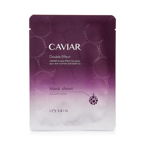 Health & Beauty > Personal Care > Cosmetics > Skin Care > Compressed Skin Care Mask Sheets - Caviar Double Effect Mask Sheet Maska W Płachcie
