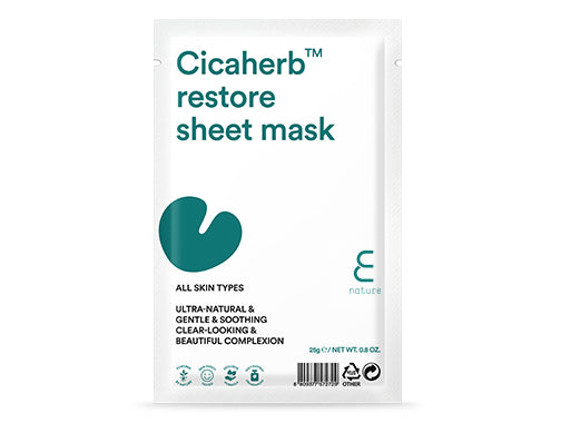 Health & Beauty > Personal Care > Cosmetics > Skin Care > Compressed Skin Care Mask Sheets - Cicaherb Restore Sheet Mask Maska W Płachcie