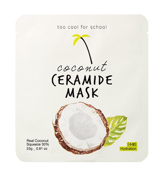 Health & Beauty > Personal Care > Cosmetics > Skin Care > Compressed Skin Care Mask Sheets - Coconut Ceramide Mask Maska W Płachcie