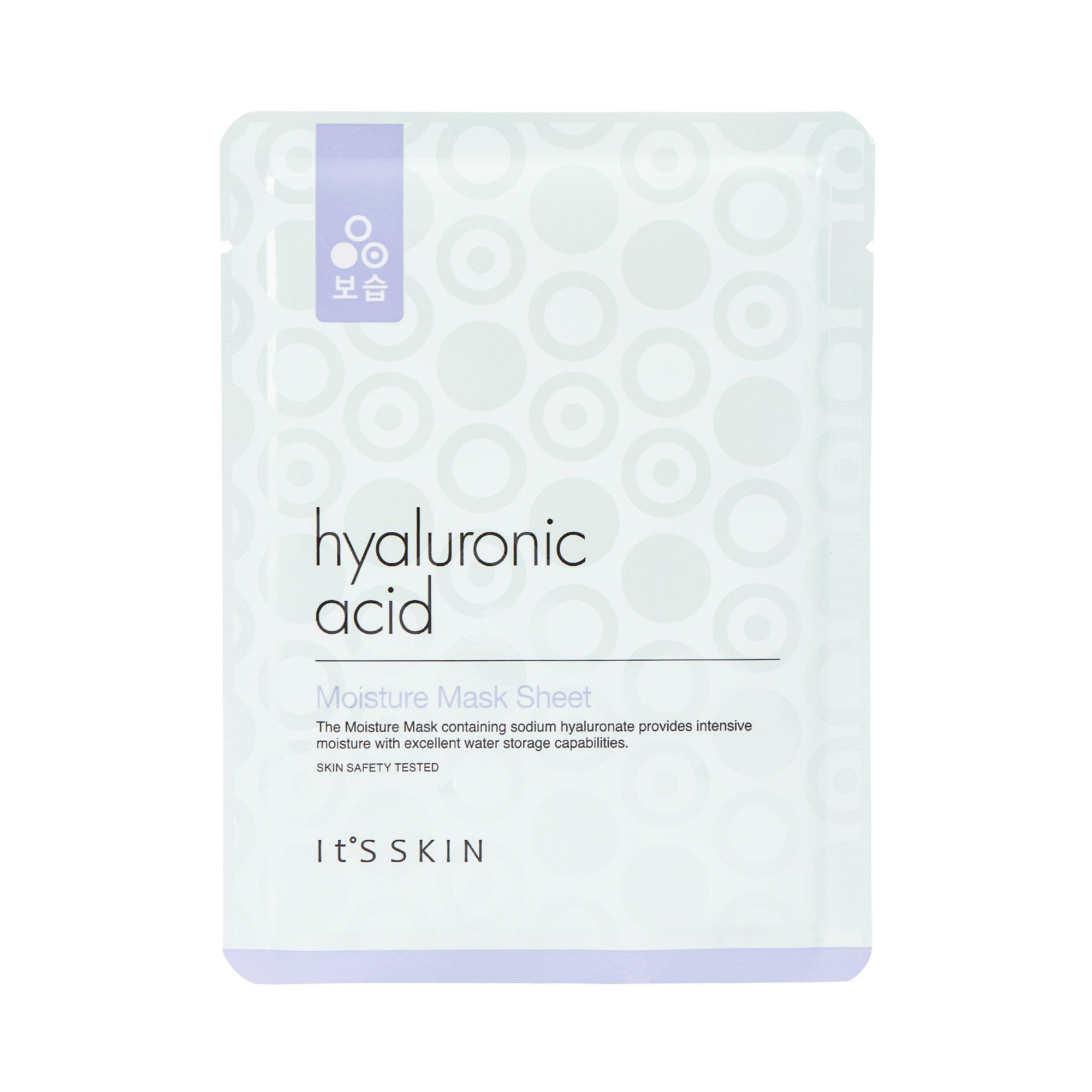 Health & Beauty > Personal Care > Cosmetics > Skin Care > Compressed Skin Care Mask Sheets - Hyaluronic Acid Moisture Mask Sheet Maska W Płachcie