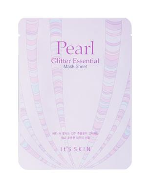Health & Beauty > Personal Care > Cosmetics > Skin Care > Compressed Skin Care Mask Sheets - Pearl Glitter Essential Mask Sheet Maska W Płachcie