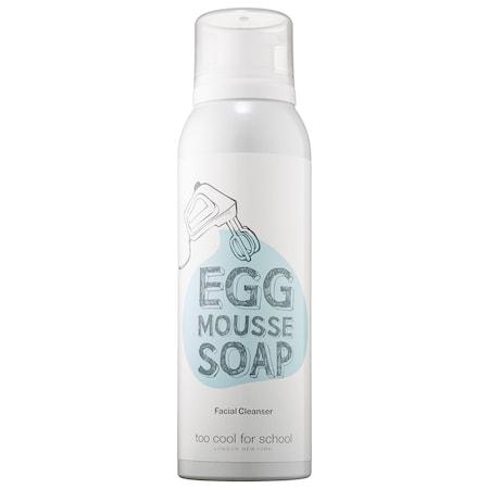 Health & Beauty > Personal Care > Cosmetics > Skin Care > Facial Cleansers - Egg Mousse Soap Mus Oczyszczający Do Twarzy 150 Ml