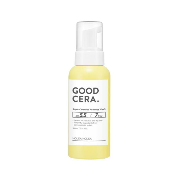 Health & Beauty > Personal Care > Cosmetics > Skin Care > Facial Cleansers - GOOD CERA Foaming Wash Pianka Do Mycia Twarzy 160 Ml