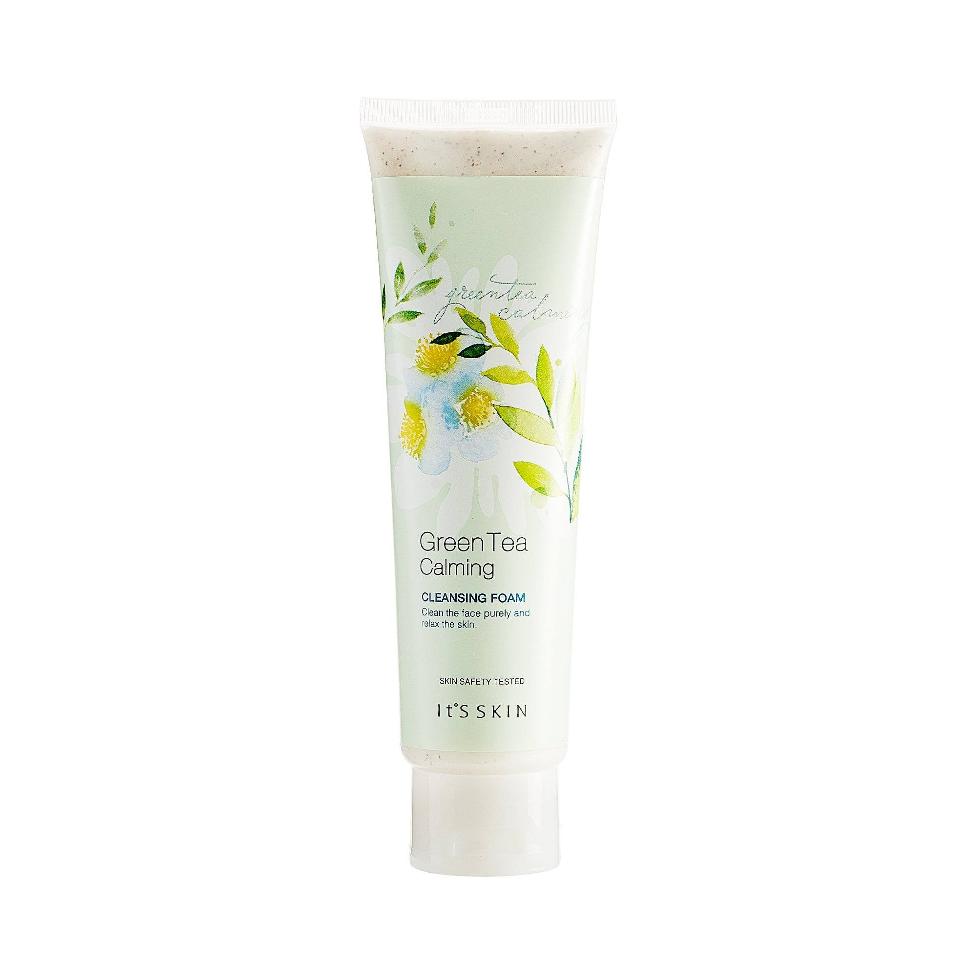 Health & Beauty > Personal Care > Cosmetics > Skin Care > Facial Cleansers - Green Tea Calming Cleansing Foam Pianka Do Mycia Twarzy 150 Ml
