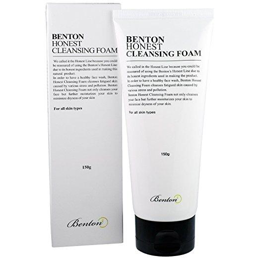 Health & Beauty > Personal Care > Cosmetics > Skin Care > Facial Cleansers - Honest Cleansing Foam Pianka Do Mycia Twarzy 150 Ml