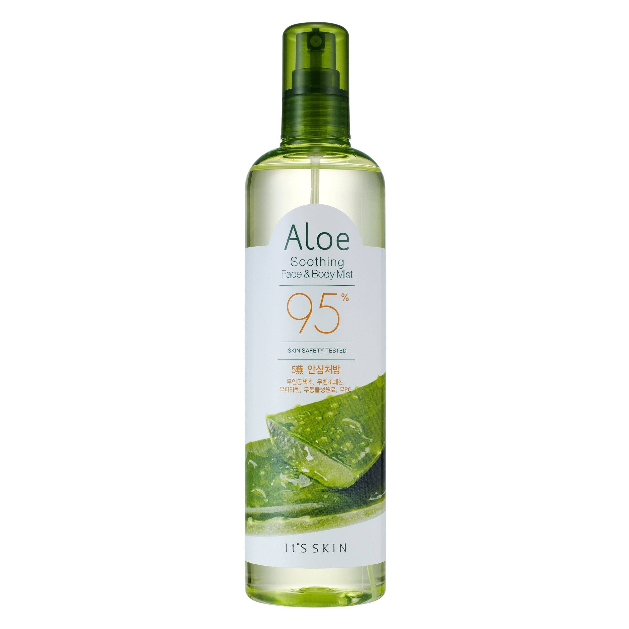Health & Beauty > Personal Care > Cosmetics > Skin Care > Lotion & Moisturizer - ALOE Soothing Face & Body Mist 95% Mgiełka Do Twarzy 400 Ml